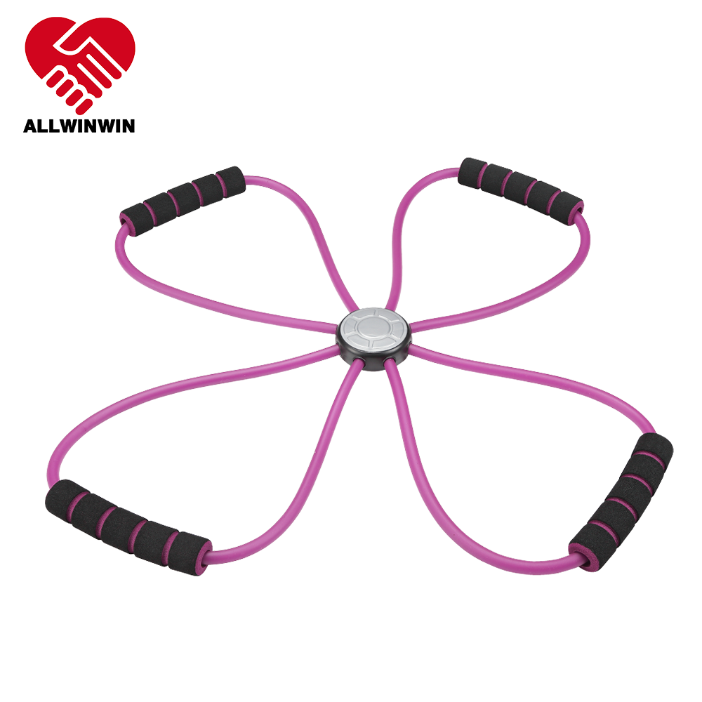ALLWINWIN RST38 Resistance Tube - X Shape Exercise Training Workout Home Gym Band Individual
