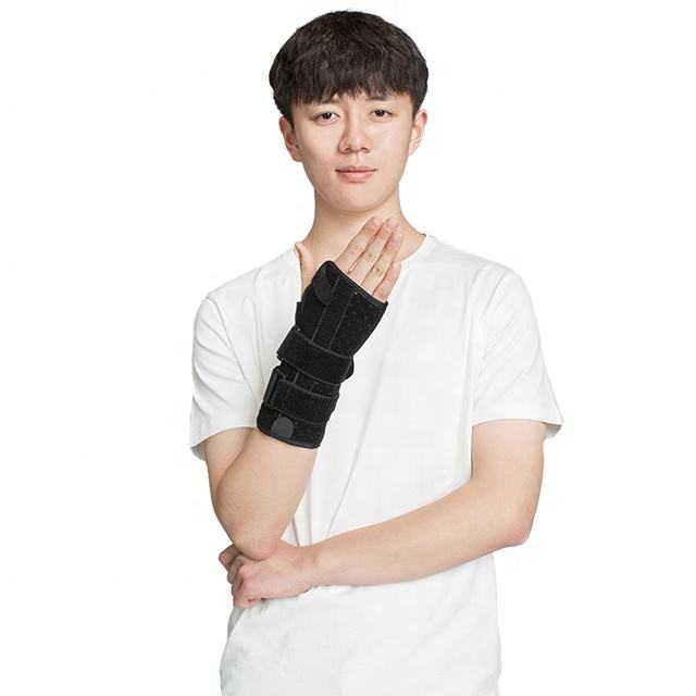 Left and Right Wrist Hand Support Brace Splint for Carpal Tunnel Arthritis Sprain Strain Gym