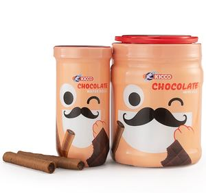 Kicco wafer roll premium quality cream filled chocolate coffee cheese crispy waferstick biscuit snacks