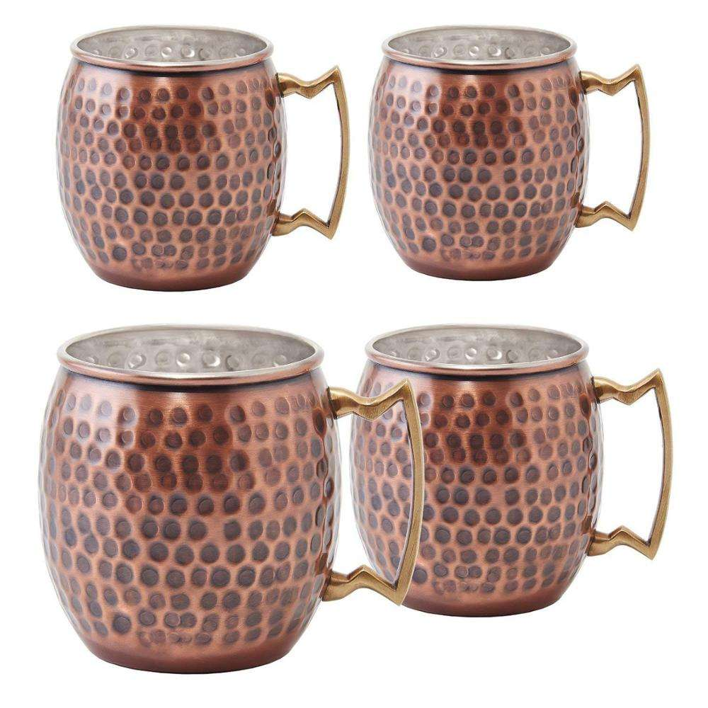 Antique Copper Hammered Fest Moscow Mule Mug, Valentine, Christmas, Birthday Gift
