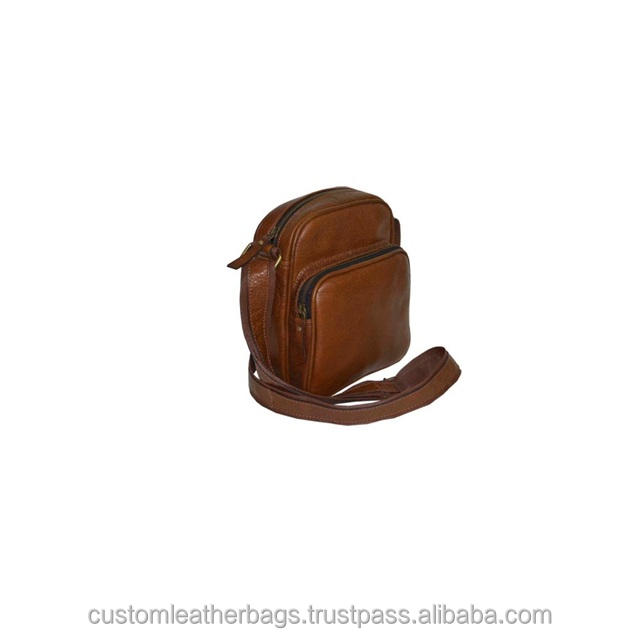 Hot Sale Large Capacity Cross-body Leather Messenger Bag