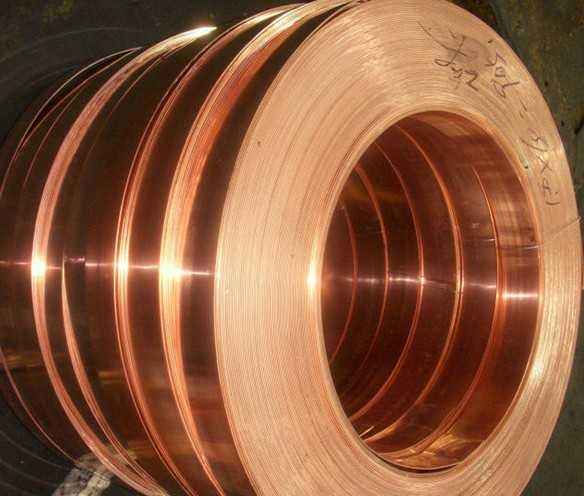 Phosphorus copper copper strip C5240 thickness 0.35mm for connector and fiber welding