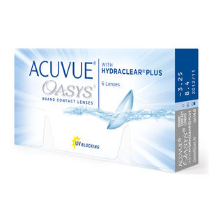 Acuvue Oasys 6pcs 2 weeks Johnson & Johnson bi-weekly disposable Soft contact lenses for extended wear