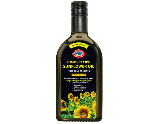 HOME-RECIPE SUNFLOWER OIL