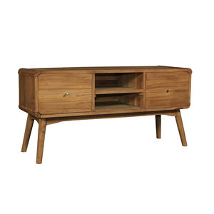 ALPHA TV CABINET SCANDINAVIAN NORDIC TEAK WOOD FURNITURE T-095