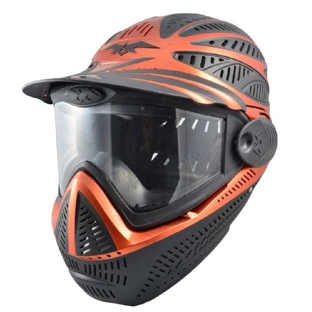 Wholesale Price Double Anti Fog Full Face Paintball Helmet Goggle