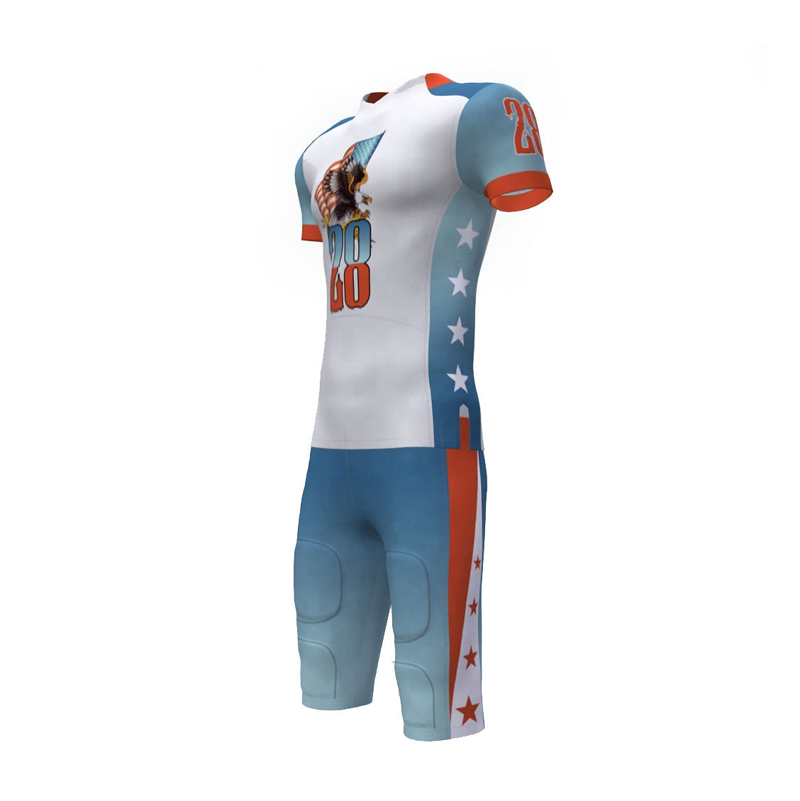 your own designs football uniform sublimation American football uniform wholesale
