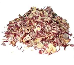 Dried Shallots Sliced Red Onion Dehydrated Purple Color Made in Vietnam