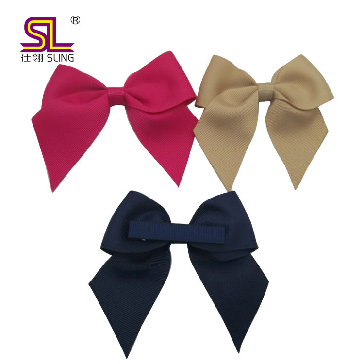 Polyester Ribbon Flowers Handmade Display for Hair Bows