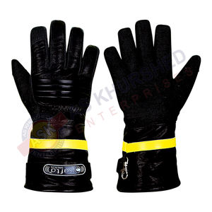 Heat Resistant Gloves / Cut Resistant Gloves / Best Quality Fire Fighter Gloves