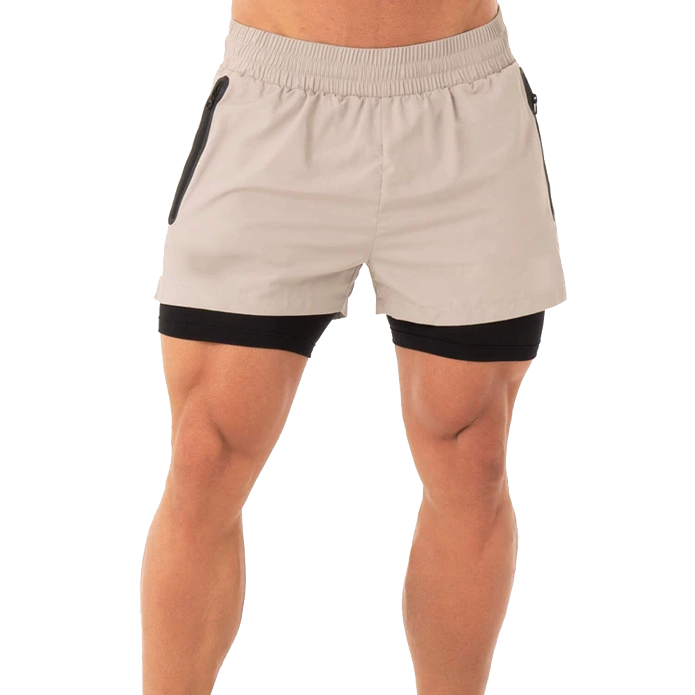 Hot Selling Men's Clothing Simple Design Fleece Made Running / Jogging Wear Shorts For Sale