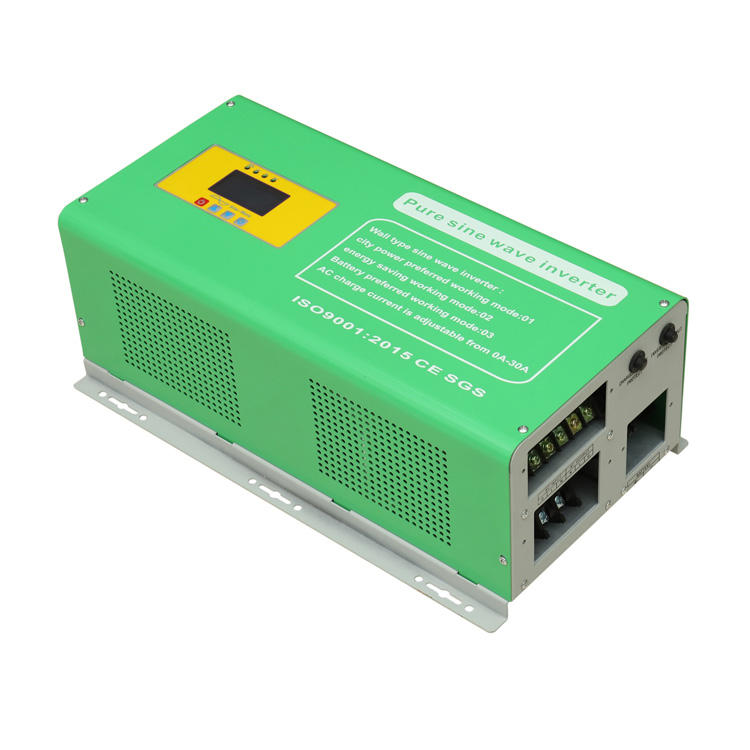 6000w 48V inverter with charger generator mini kit suoer home frequency inverter