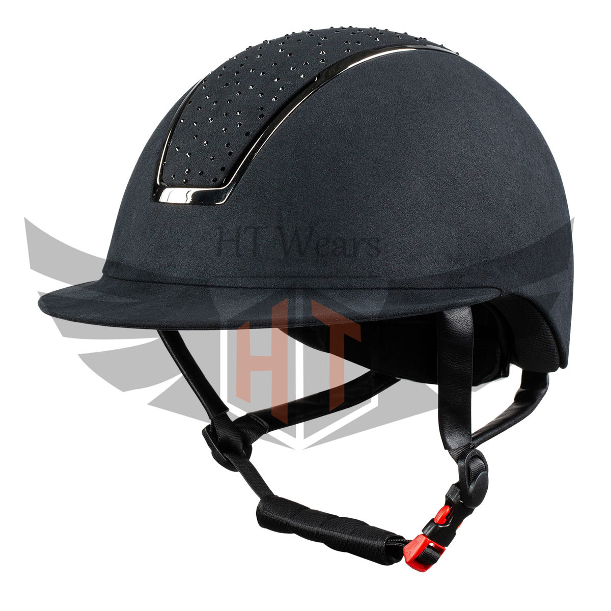 Horse racing equestrian helmet adult certified durable ABS horse riding helmets equestrian helmet