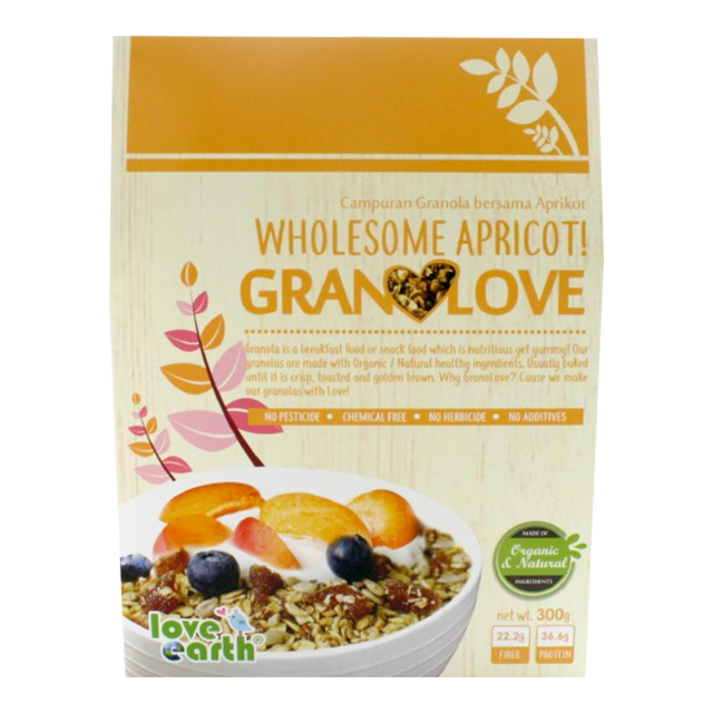 Wholesome Apricot Granola for Diet