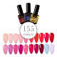 VOGUE 155 colors nail gel polish for nail art