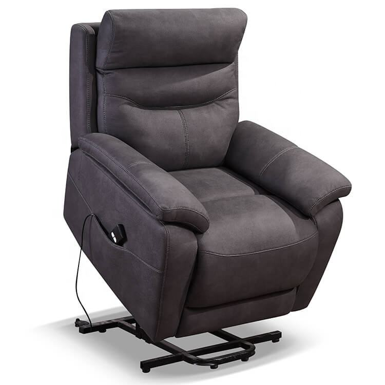 Lazy Boy Fabric Recliner Okin Power Electric Lift Chair For Elderly
