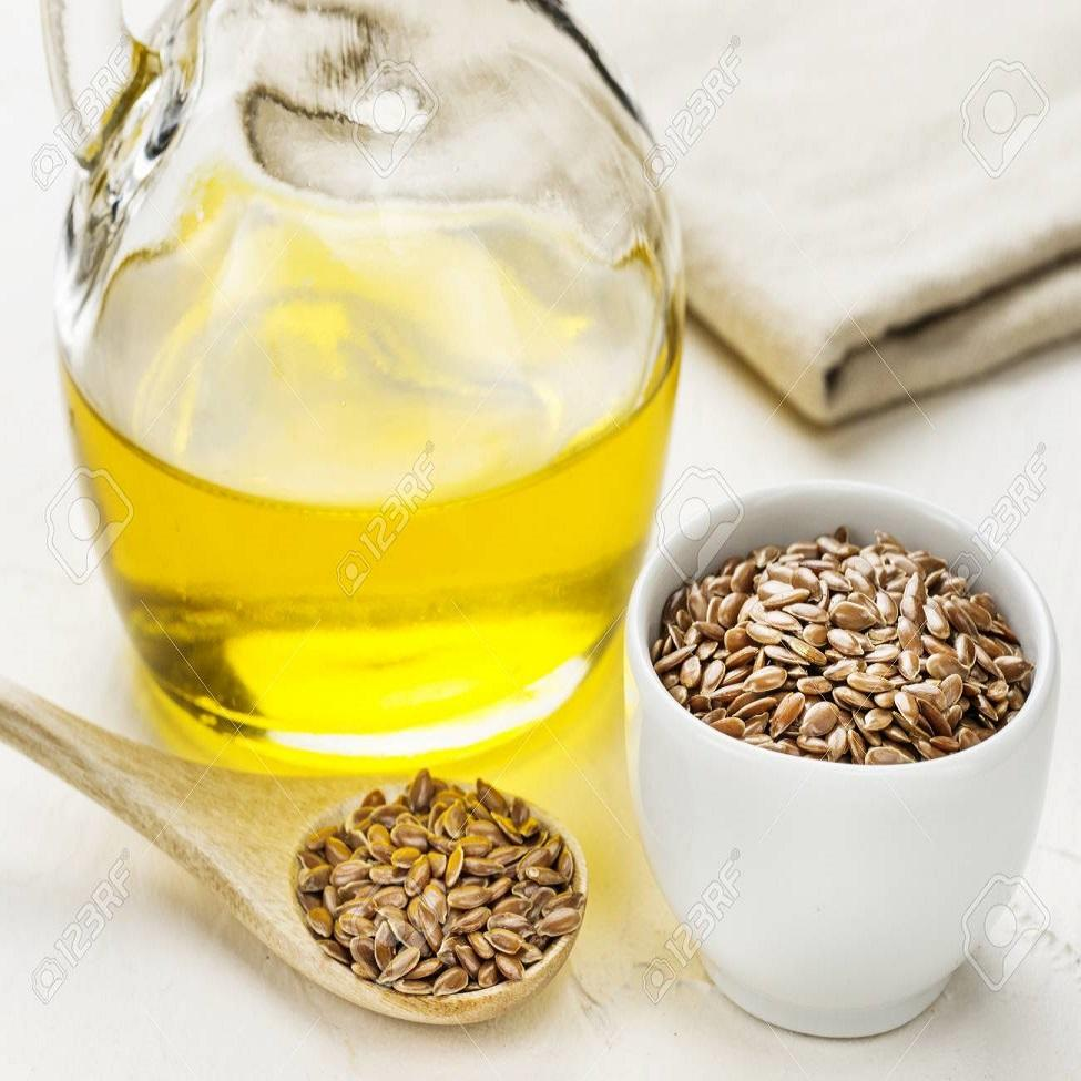 Refined Food Grade Natural Linseed Oil in Health & Medical