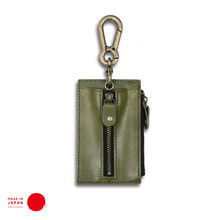[ TOCHIGI LEATHER ] Key & Coin Case - Made in Japan