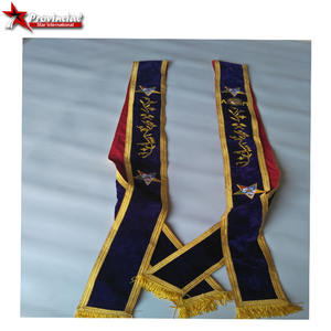 Masonic regalia มี Matron Star SASH/คุณภาพสูง Eastern Star sashes