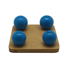 Montessori Materials - Natural Wooden Toys Balls On Small Pegs