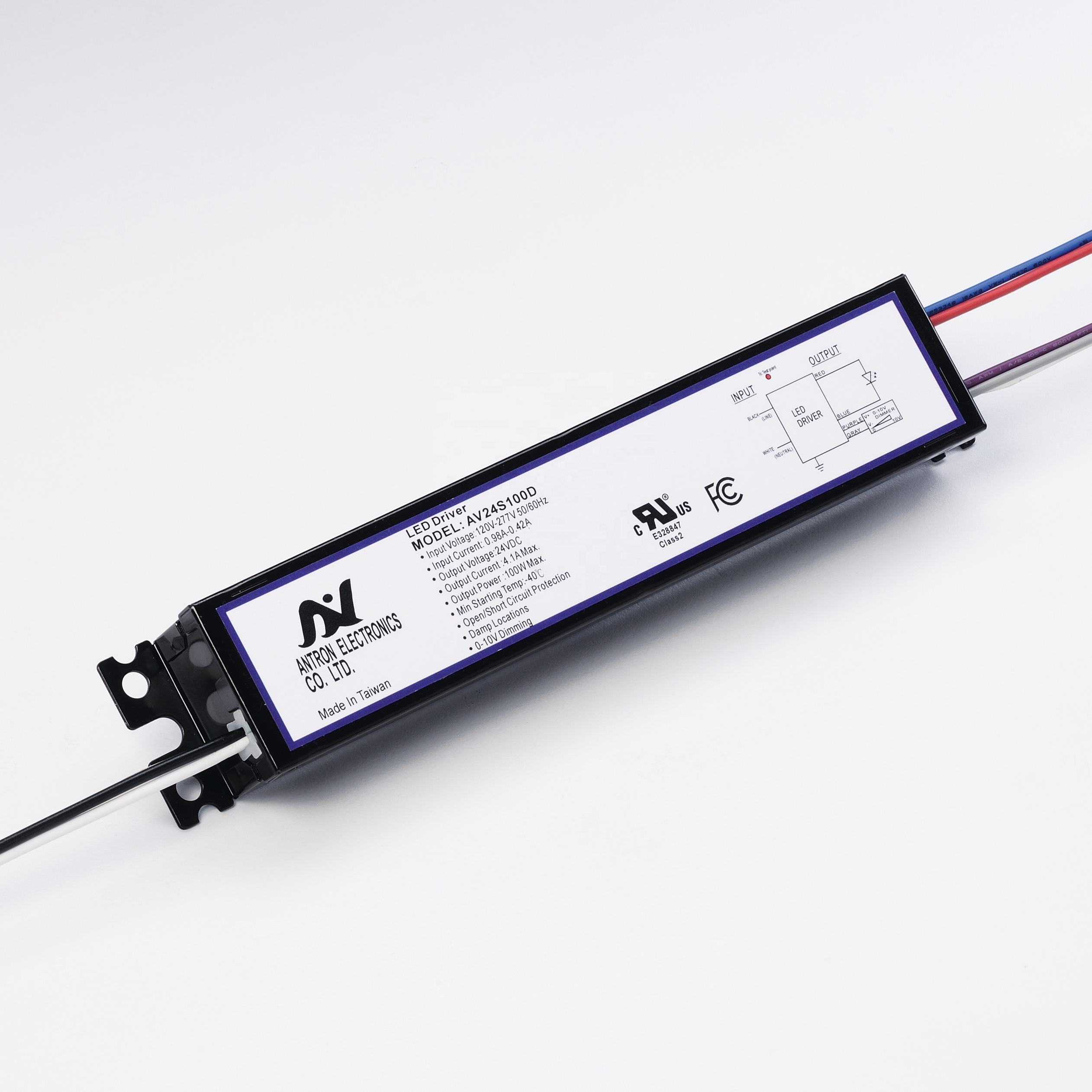 Made in Taiwan 12V 100W LED Driver