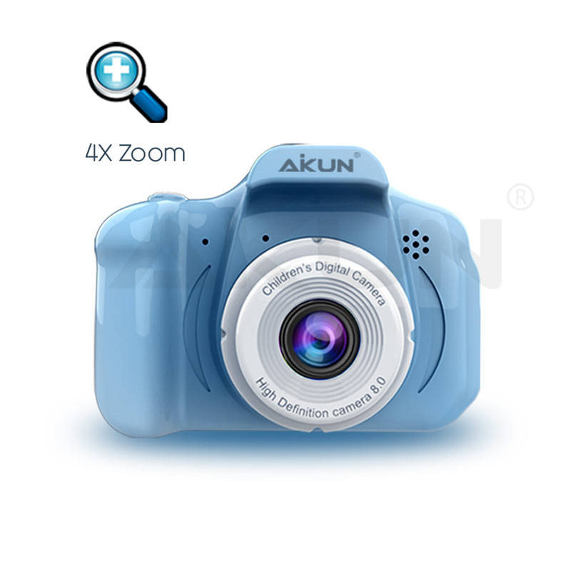 800W Kids Digital Video Camera With Soft Silicone Protective Shell Kid Camera