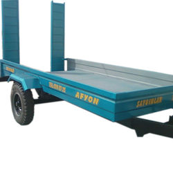 Double and Single Axle Small Car Trailer 4 and 9 Tones Forklift Carriage Trailer