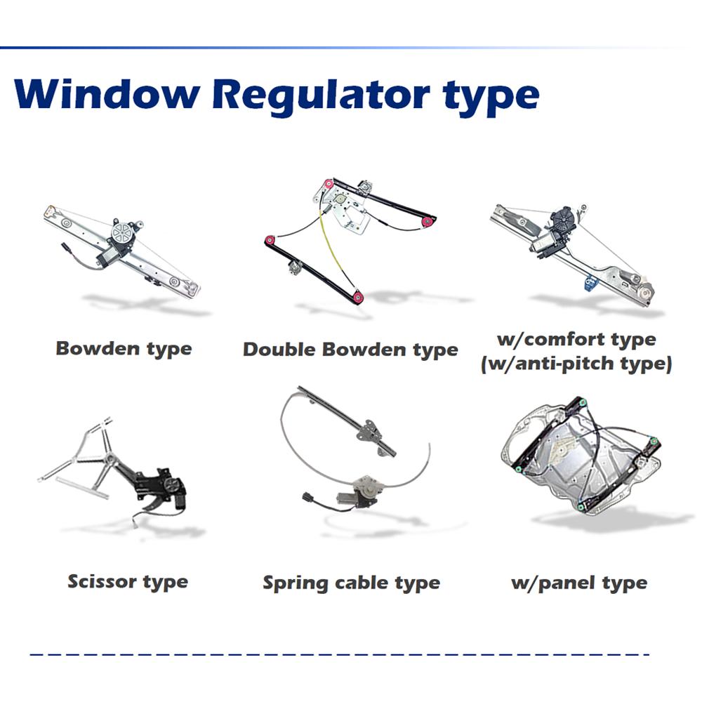 1779727-1779728 Window Regulator Repair Clips Front Doors for DAF CF85//95