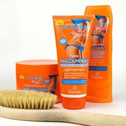 Anti-cellulite drainage massage cream
