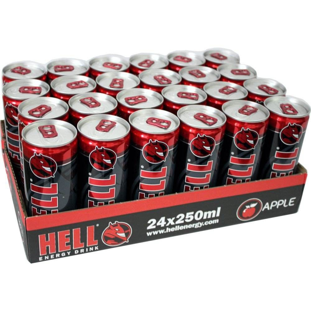 HELL ENERGY DRINK CLASSIC 250 ML (Hộp 24 Chiếc)