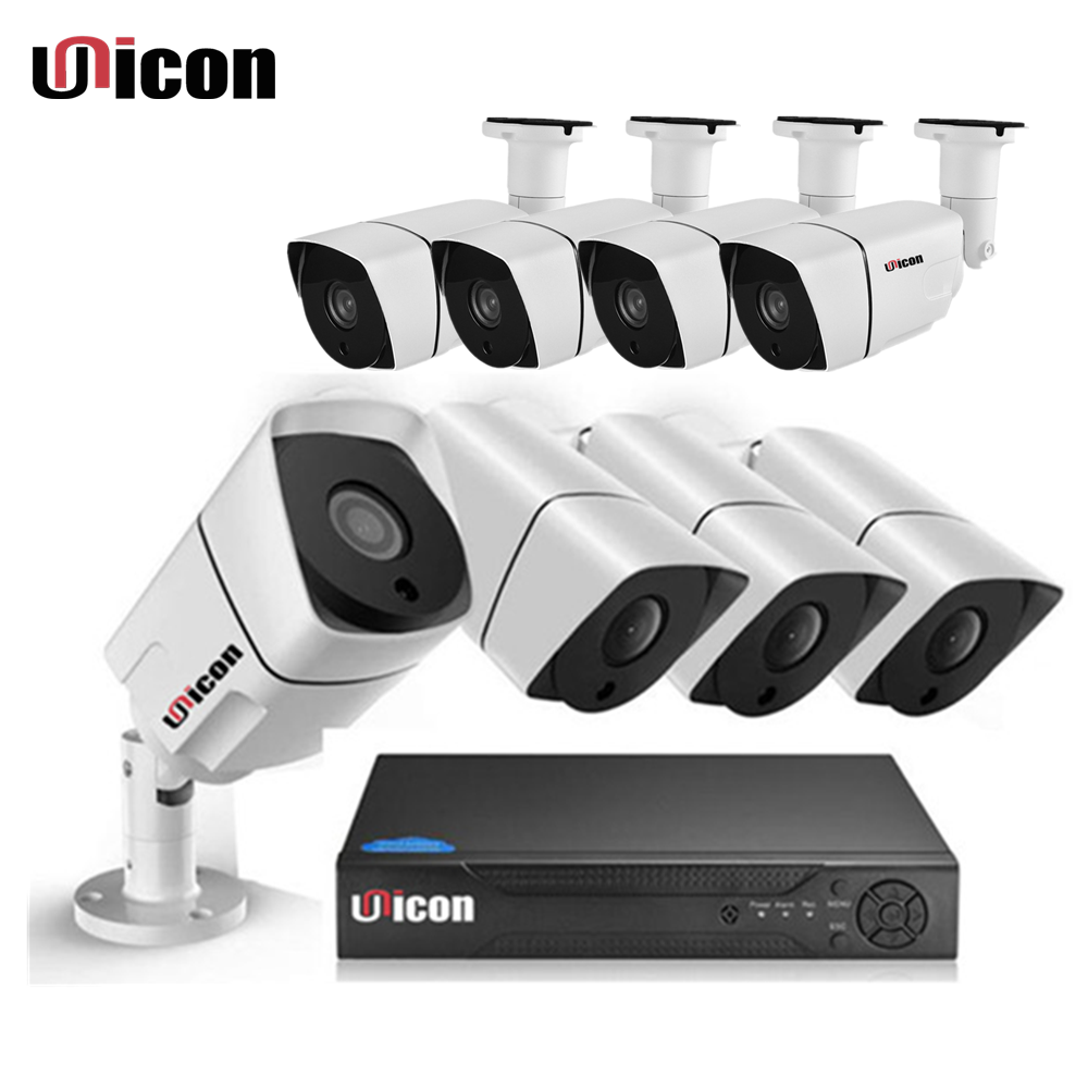 2MP 1080P Real Time AHD DVR Kit Home Security Video Surveillance Dvr Cctv Camera System