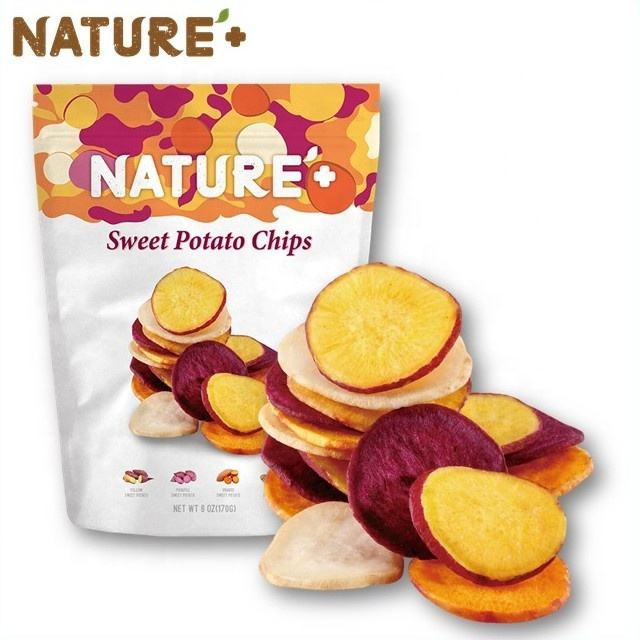 Vegetable Chips - Tasty Healthy Snack Sweet Potato Chips