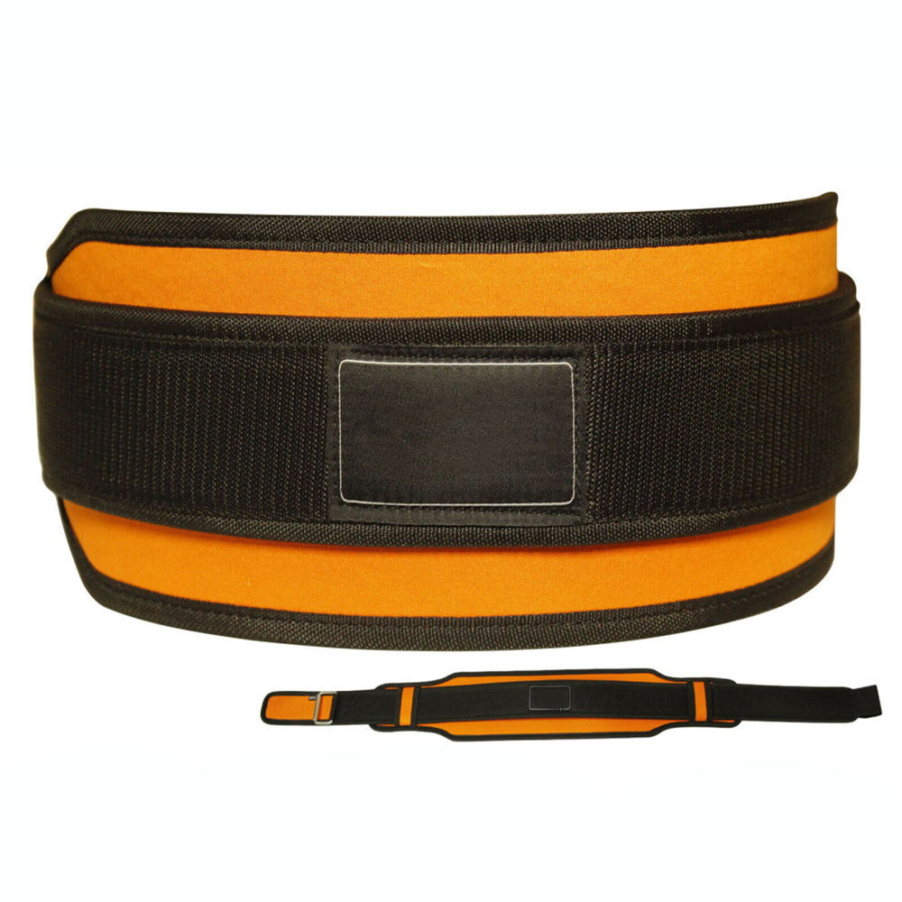 Pakistan Wholesale Men's Fitness Wear Weight Lifting Belts Dual Color Neoprene Belts For Sale