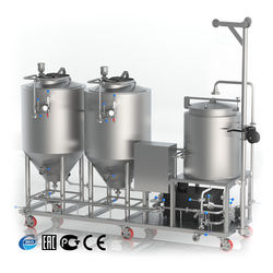 CE Certificated Brewing equipment 100L Microbrewery machine Craft beer Mini breweries