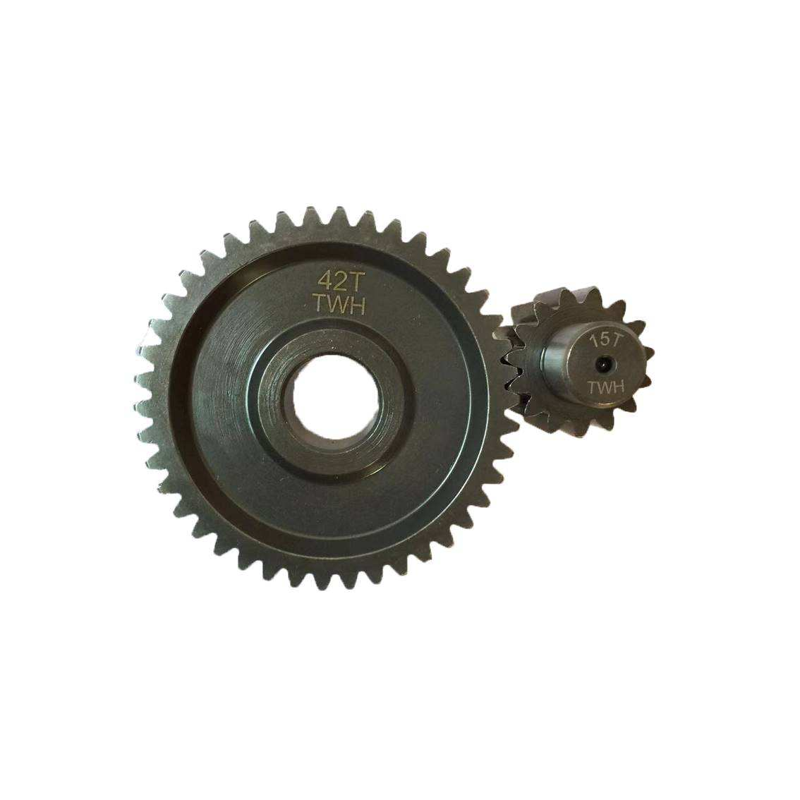 Motorcycle transmission rear gear set for Honda ZX
