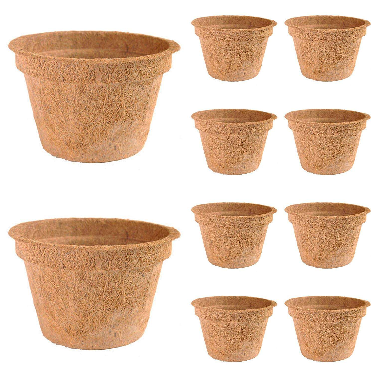 COCONUT COIR POTS for seed nursery from Vietnam/Whatsapp: +84378 247 335