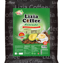 Private Label Powder Drink Coffee Avocado 50 Sachets per Bag