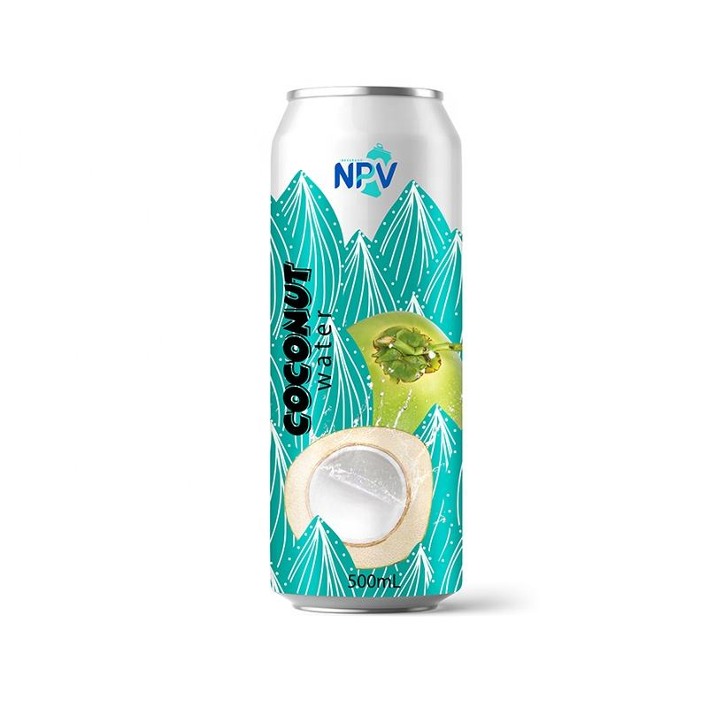 Manufacturer Free Sample 330ml Canned Natural Coconut Water