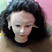wigs human hair lace front machine made unprocessed hair