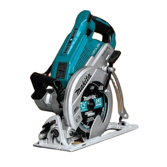 High Quality Ewe Mak-itas XSR01PT 18Vx2 LXT 36V Brushless Rear Handle 7-1-4 Circular Saw 2x 5.0 New