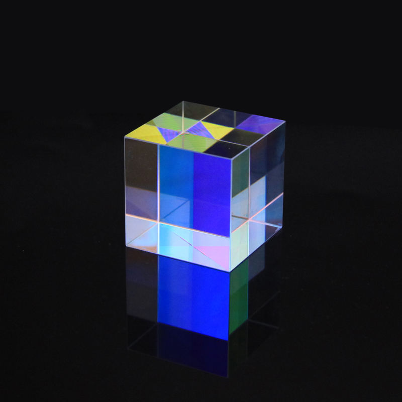 Hot Sale Custom crystal cube glass X-Cube prism