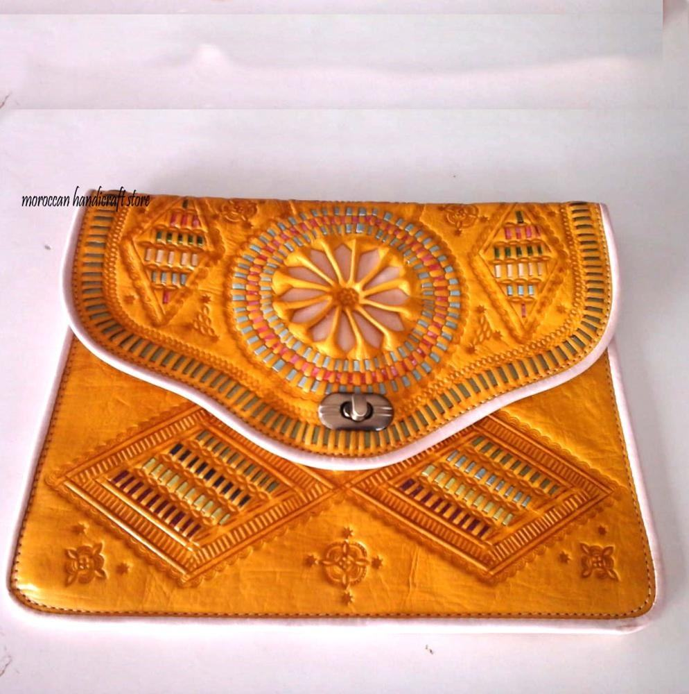 New Luxury Women Bag Brand Handbags Genuine Leather Purse, made in morocco Ladies Fashion Mini Designer Shoulder Bag