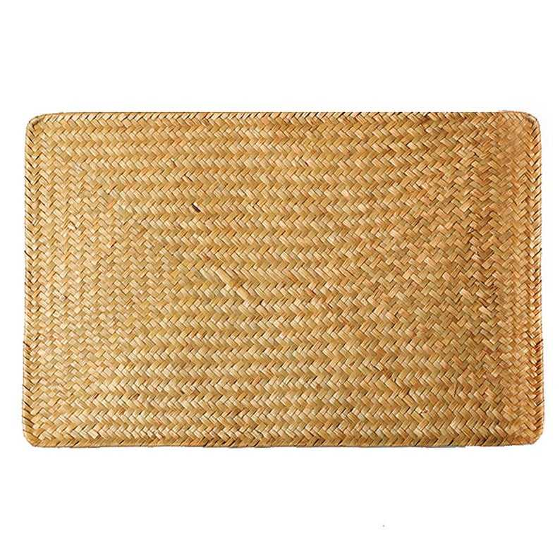 Hot deals Low Price 4 packs of Wicker Sea grass Place mat recessed, Wicker Charger Plate for Wedding made in Vietnam