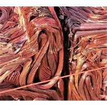 Scraping Copper Wire For Electrical Industries