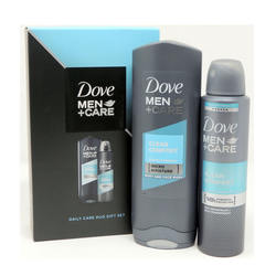 Men Care Daily Care 2 Piece Gift Set 2 Piece Gift Set 8.5 Oz Men Care Clean Comfort Body & Face Wash