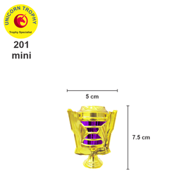 Indonesian Plastic Trophy Components Low Budget for Trophy Award (201 Mini)