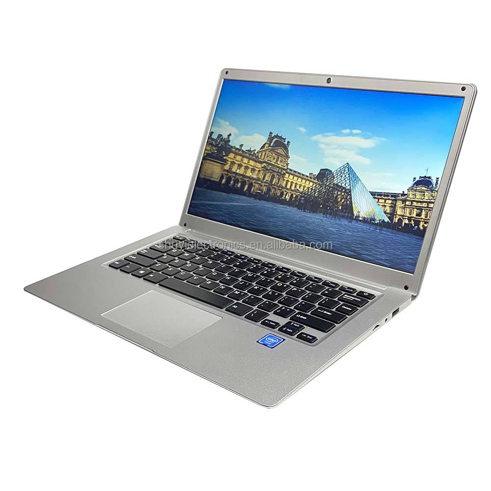 Hot 14.1 Inch Voor J3455 1.5Ghz 8G Ram 128Gb Hdd/Ssd Draagbare Laptops En Computers