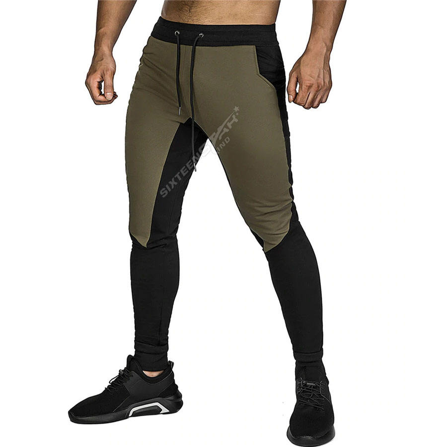 OEM Custom Gym Fitness Wear Cotton Bodybuilding Sweatpants Elastic leggings fitness Compression Running Pants