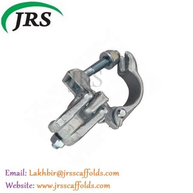 Zinc-plated scaffolding system part press putlog coupler