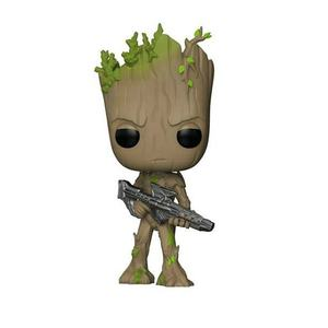 GROOT kids 293 FUNK POP Anime Guardians Of The Galaxy Marvel Collection Model Toys Movie Action Figure For Children Birthday
